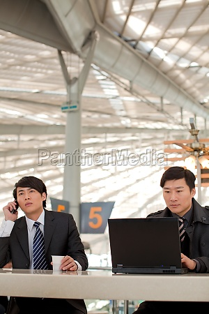 airport terminal call radio technology young