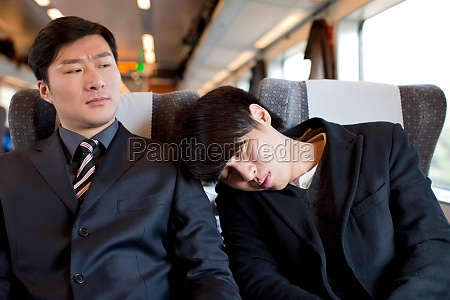 asian oriental figures sleeping rest manager