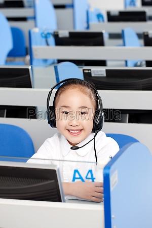 education class pupils kid asian oriental