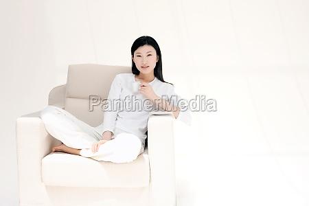 asia coffee mug drink portrait alone