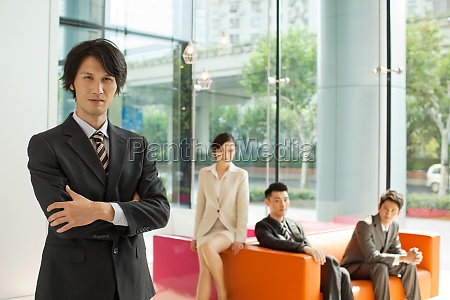 office oriental asia business people the