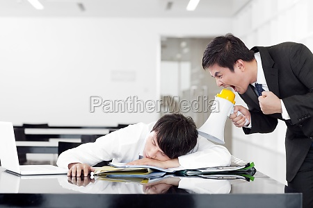 two people workplace well dressed horizontal