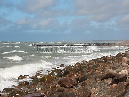 forceful and devastating northern coastline with