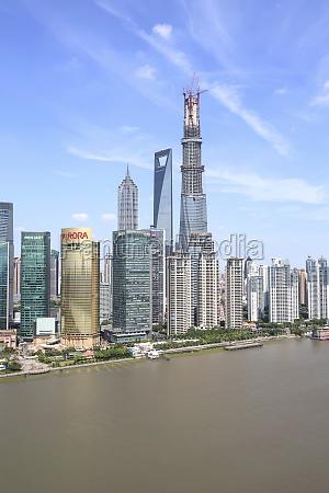 shanghai central building jin mao building