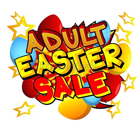 adult easter sale comic book