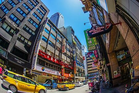 taiwan taipei city and blue sky