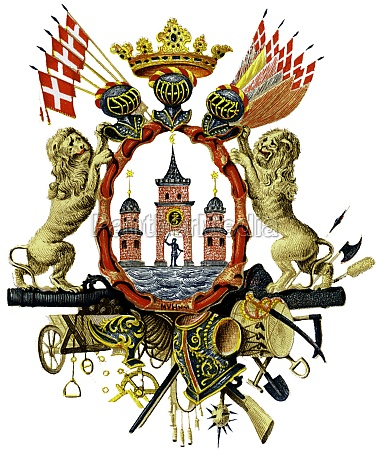 coat of arms of copenhagen