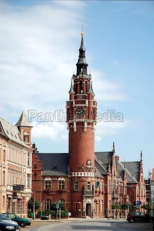 town hall of dahmemark germany