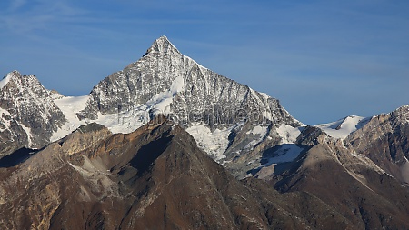 majestic mt weisshorn view from gornergrat