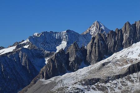 mt nesthorn swiss alps