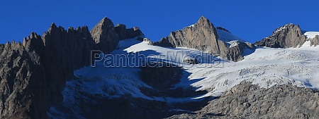 rugged mountains fusshorn and rotstock