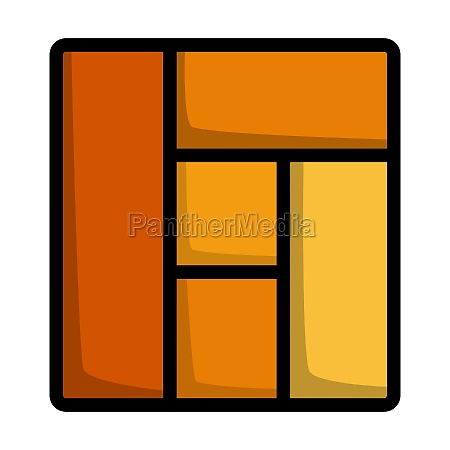 icon of parquet plank pattern