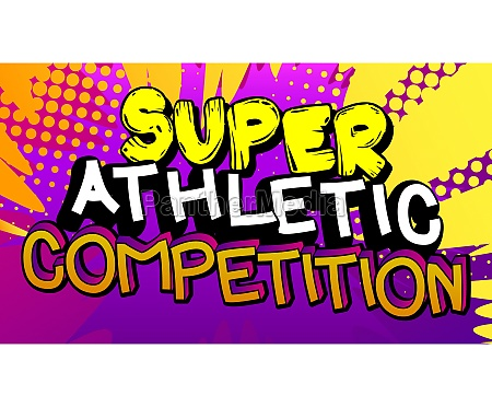 super athletic competition comic book