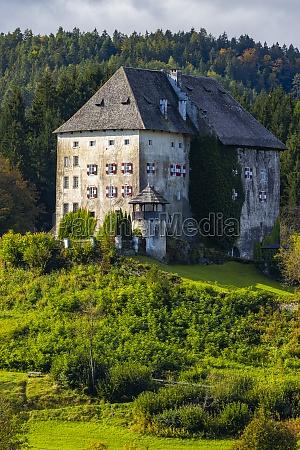 moosburg castle in carinthia austria