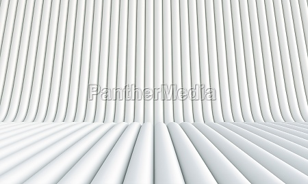 white abstract background in tubular shapes