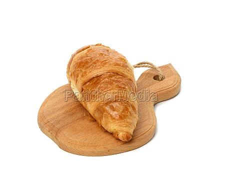 baked croissant made from white wheat