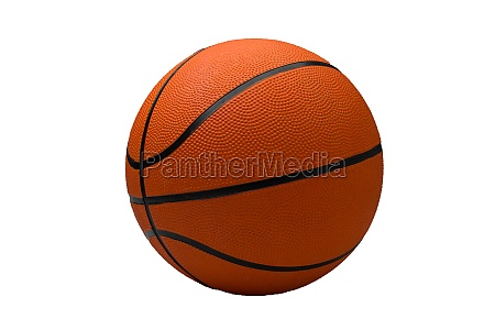 basketball ball on a light background