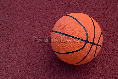 basketball ball on the field
