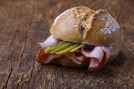 bavarian meatloaf bun