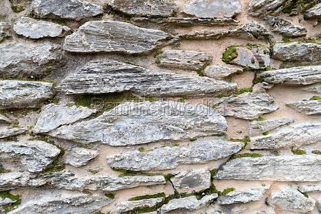 wall stone close up