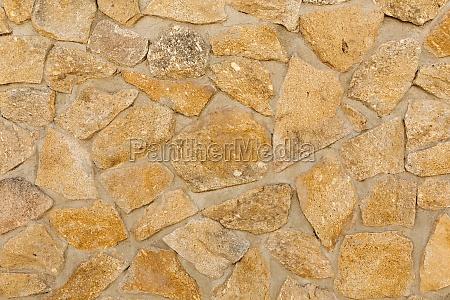 stone wall closeup