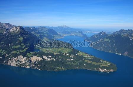 blue lake vierwaldstattersee