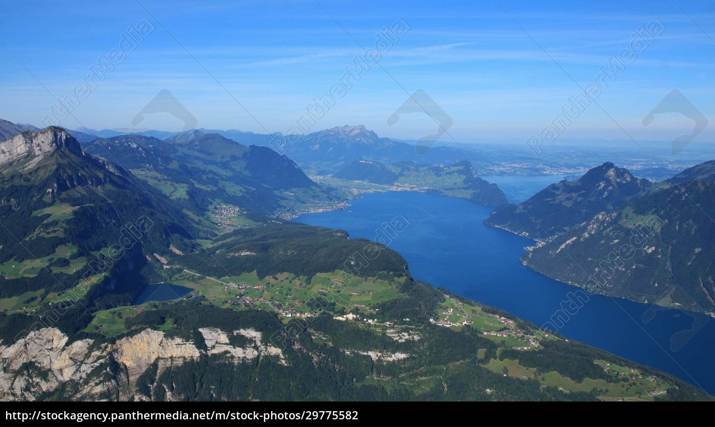 lake, vierwaldstattersee, and, distant, view, of - 29775582