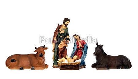 image figures for the nativity portal