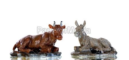 animals present in the nativity scene