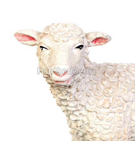 figure of a sheep for the