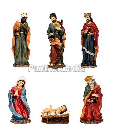 ceramic figures for the nativity scene