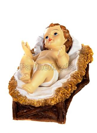 baby jesus christmas rustic