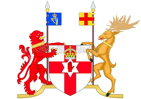 coat of arms of northern ireland