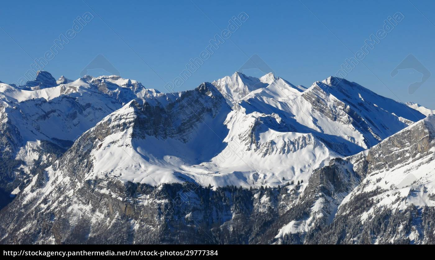 high, mountains, in, central, switzerland, , view - 29777384