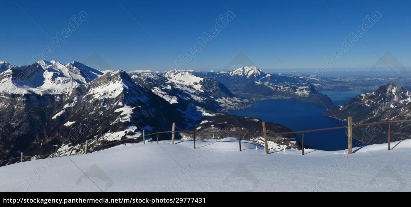 lake, vierwaldstattersee, in, winter - 29777431