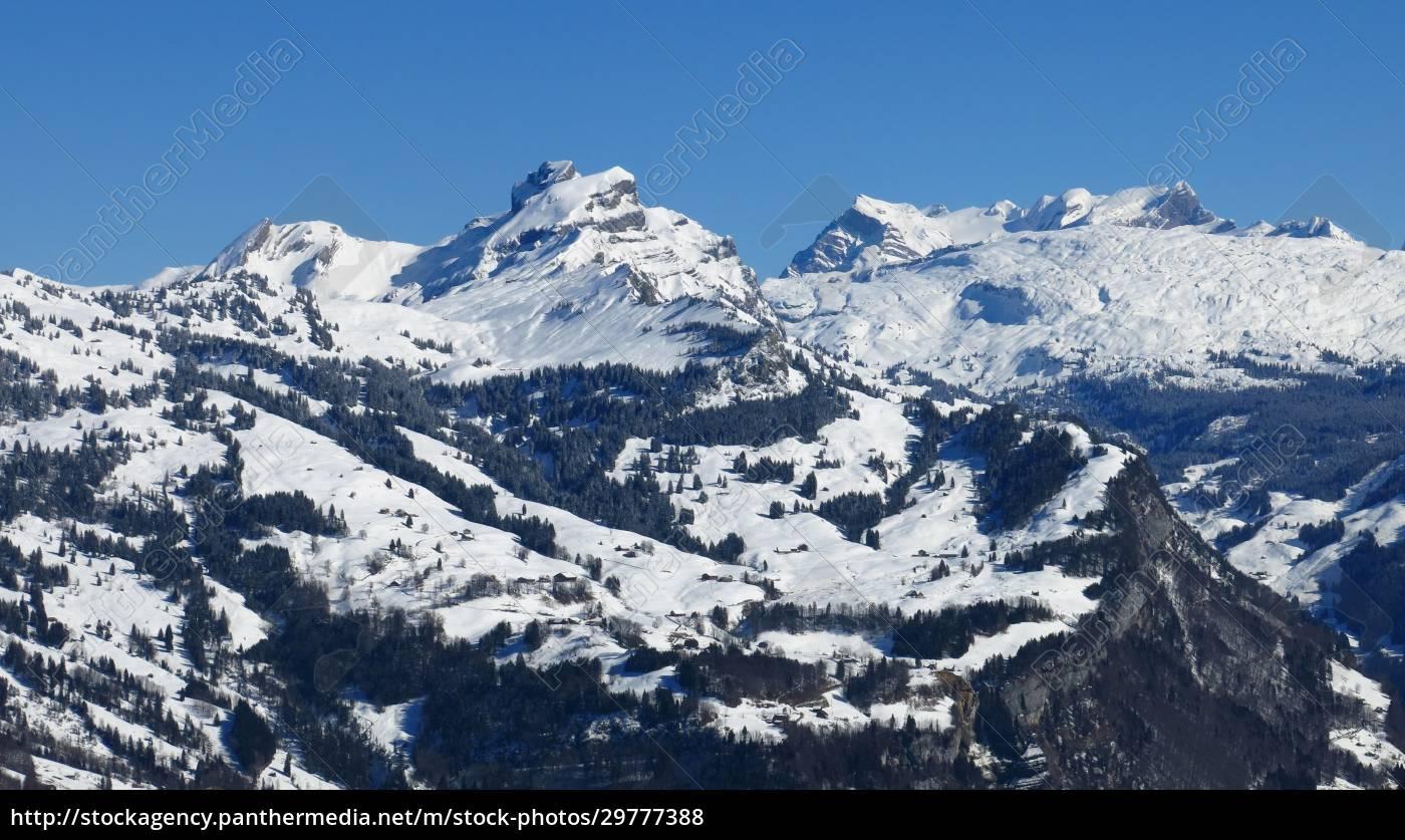 winter, landscape, in, central, switzerland, , view - 29777388