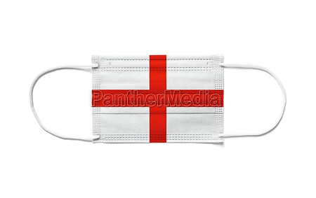 flag of england on a disposable
