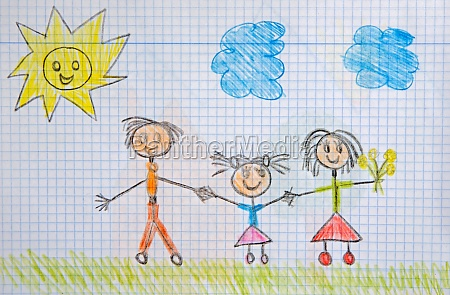 childrens drawing