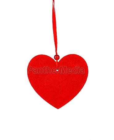 red heart for christmas for christmas