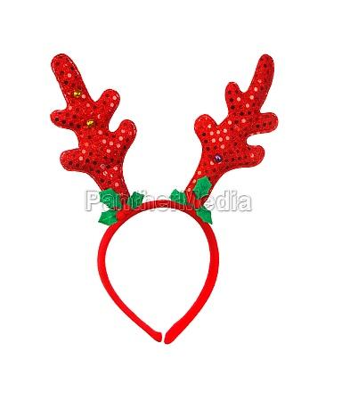 toy reindeer horns