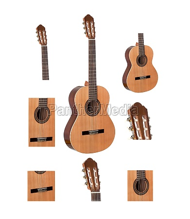parts of a clasic guitar