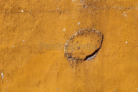 old brown wall