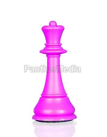 pink queen chess piece
