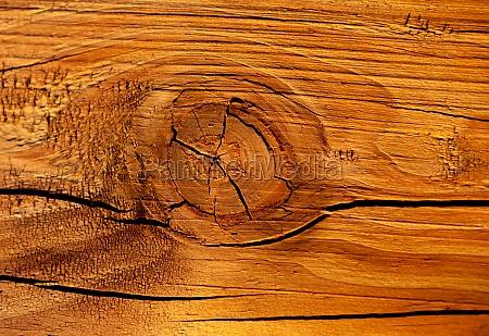 cracked brown wood