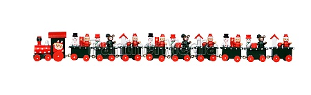red christmas train