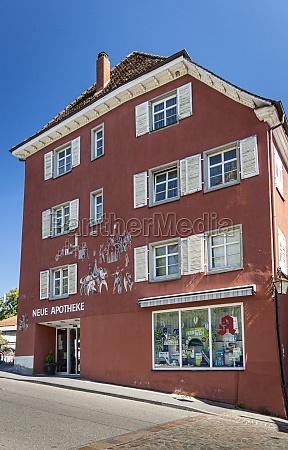 german pharmacy building