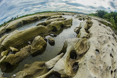 rock formations band of tama river