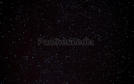 starry sky above the city
