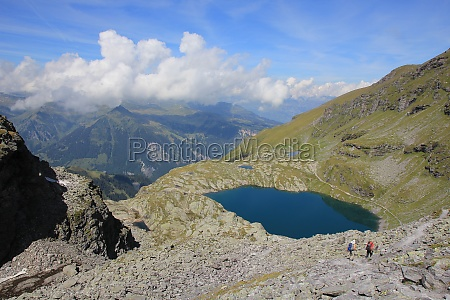 schottensee lake near pizol