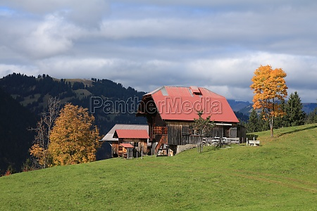 old swiss chalet near gstaad